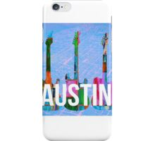 Austin Texas Guitars iPhone Case/Skin