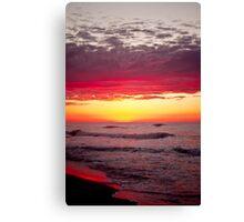 Pentax Sunrise Canvas Print