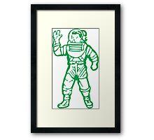 bbc green Framed Print
