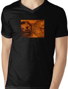 Ten to Four Mens V-Neck T-Shirt