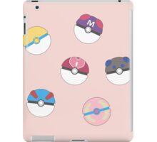 Cute Poke Balls iPad Case/Skin