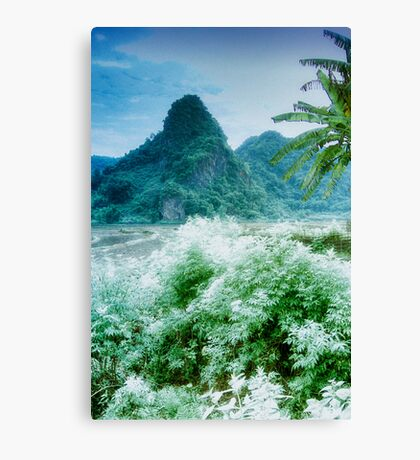 Nam Sim Mountains Canvas Print