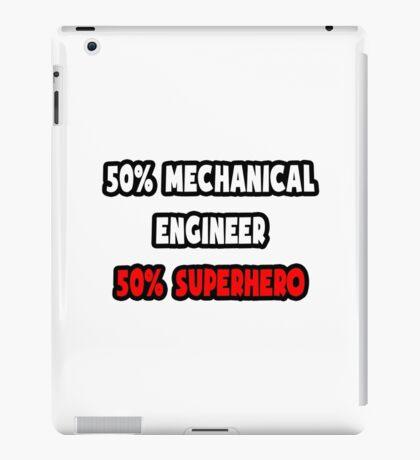 Half Mechanical Engineer / Half Superhero iPad Case/Skin