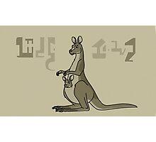Rick and Morty-- kangaroo Photographic Print