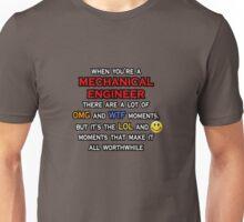 Mechanical Engineer .. OMG WTF LOL Unisex T-Shirt