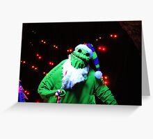 Nightmare Before Christmas - Oogie Boogie Greeting Card