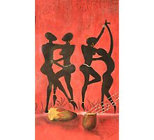African Dance Photographic Print