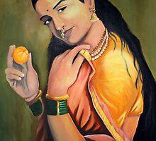 Kerela Lady by Aditya Singh