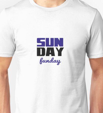 Sunday Funday Stacked Unisex T-Shirt
