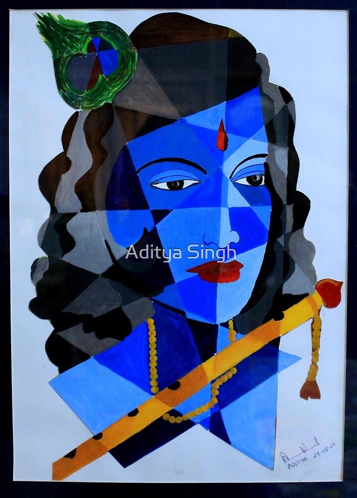 Krishna- Murali manohar by Aditya Singh