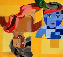 Krishna and putna by Aditya Singh