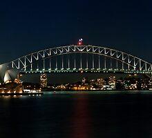 Sydney Harbour Bridge and Opera House - Sydney by Soren Martensen