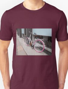 Pink Wheels Unisex T-Shirt
