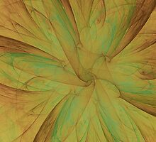 Fall Blossom Fractal by charmarose