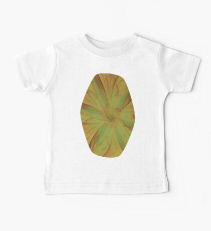 Fall Blossom Fractal Baby Tee