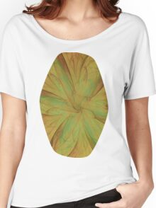 Fall Blossom Fractal Women's Relaxed Fit T-Shirt