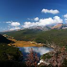 Mountain Lake by Eileen McVey