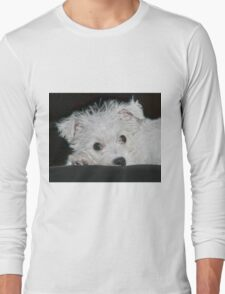 Resting Puppy Long Sleeve T-Shirt