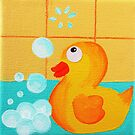 Cheeky Little Duck 3 by Kelly Mark