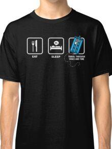Eat, Sleep, Who Classic T-Shirt
