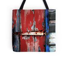 Peeling rust Tote Bag