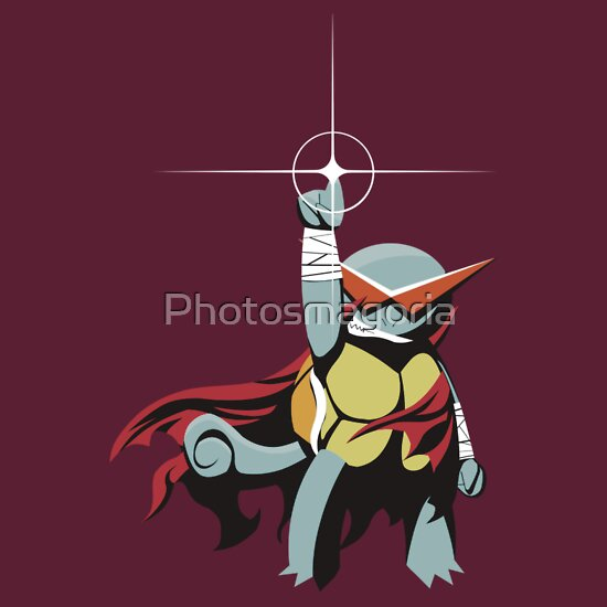 Kamina Squirtle, a t-shirt of parody, water, pokemon ...