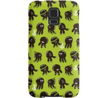 Black cute octopuses. Samsung Galaxy Case/Skin