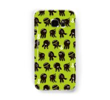Black cute octopuses Samsung Galaxy Case/Skin
