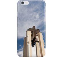 High church turret cross iPhone Case/Skin