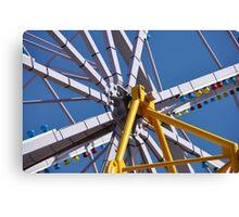 Big Wheel, Luna Park Canvas Print