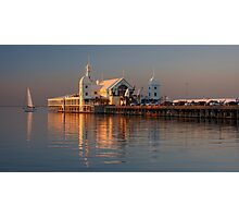 Sunset on Corio Bay Photographic Print