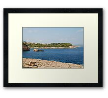 Patitiri coastline, Alonissos Framed Print