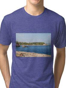 Patitiri coastline, Alonissos Tri-blend T-Shirt