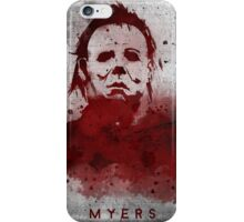 Myers iPhone Case/Skin