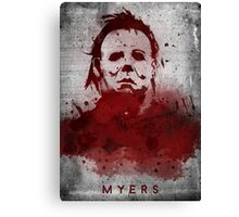 Myers Canvas Print