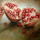 Pomegranates by Alma Horn