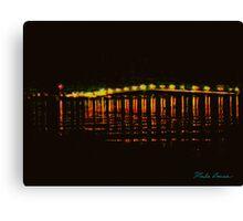 Bridge Over Quiet Water Canvas Print