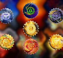 Seven Chakras by saleire