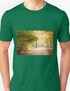 Yellow and green autumn leaves T-Shirt