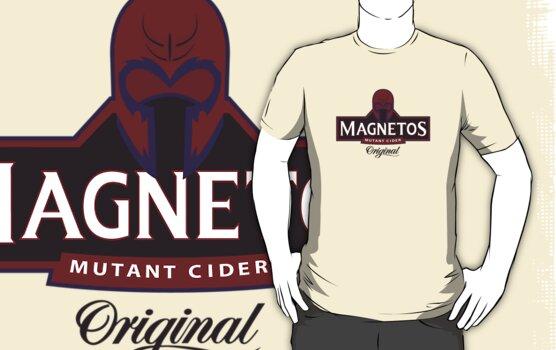 Magnetos Mutant Cider by Malc Foy