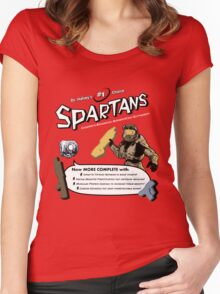 Spartan Vitamins Women's Fitted Scoop T-Shirt