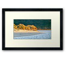 sunrise Margaret river Framed Print