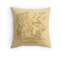 Gun Dog Throw Pillow