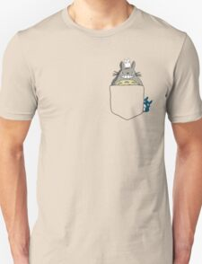 Totoro Pocket, With Little Totoro's Studio Ghibli T-Shirt