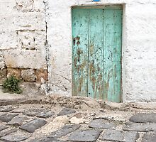Rustic Door No. 8 by Glennis  Siverson
