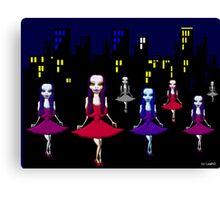 Vampire Nation - cute Vampira for Vampire fans Canvas Print