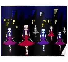 Vampire Nation - cute Vampira for Vampire fans Poster