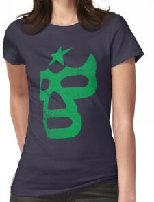 Luchador Mask Womens Fitted T-Shirt