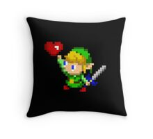 Heart Found Throw Pillow