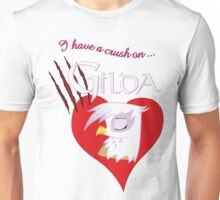 I have a crush on... Gilda - with text Unisex T-Shirt